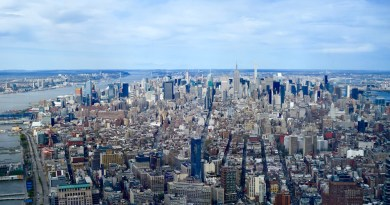 View from the Freedom Tower, New York