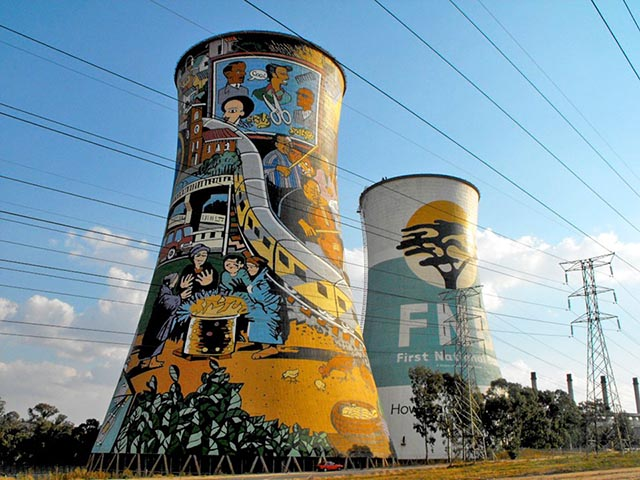 Soweto Power Station Cooling Towers