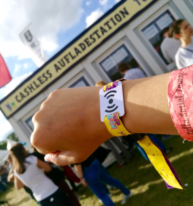 Cashless payment at Lollapalooza Berlin 2017