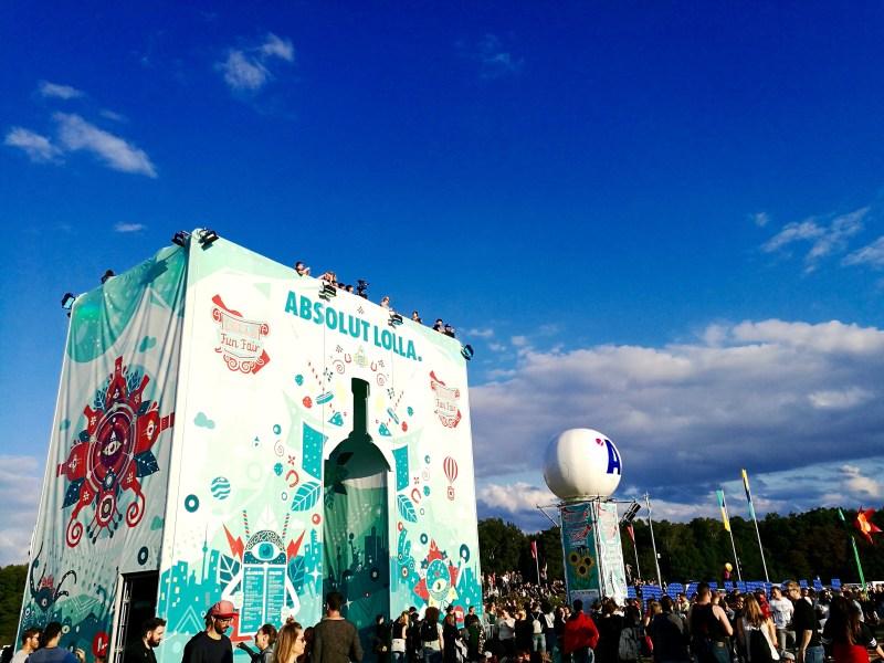 Fun Fair at Lollapalooza Berlin 2017