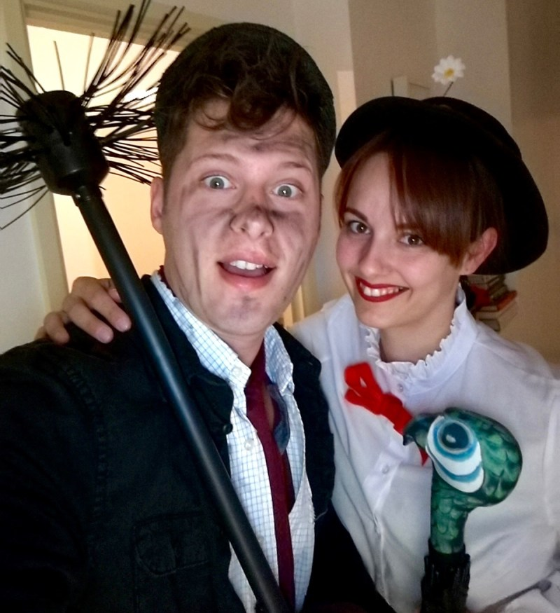 Mary Poppins and Bert Costumes