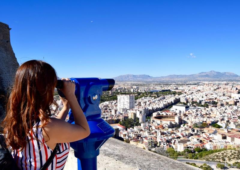 View from Santa Barbara Castle, Alicante