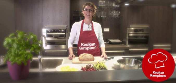 Francine kookt bij Keuken Kampioen