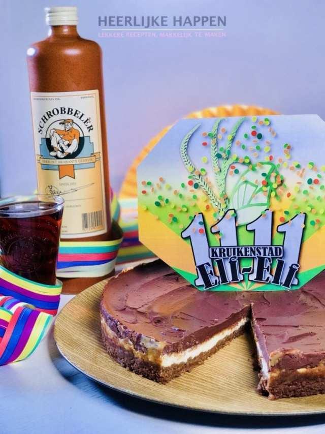Tilburgse Schrobbeler cheesecake
