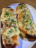 Luxe stokbrood met wagyus gehakt