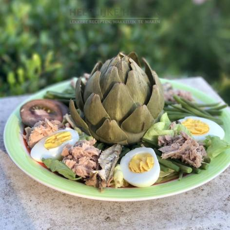Salade Nicoise à la Francine