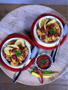 Mexicaanse zoete aardappelstamp