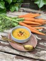 Een vegan switch wortel kikkererwtensoep