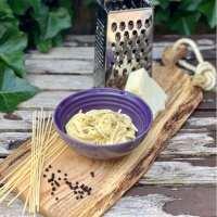 Een klassieker spaghetti cacio e pepe