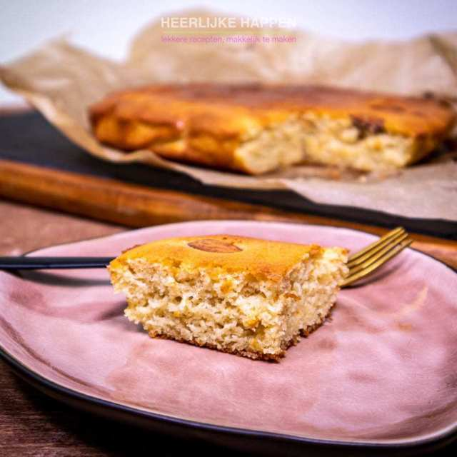 Low carb amandel kaneel cake