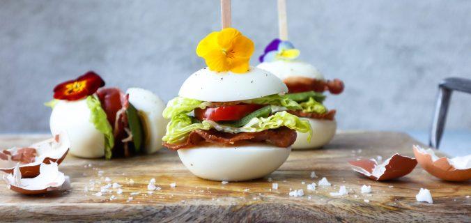 Basisrecept BLT ei sandwich met avocado