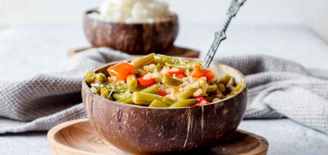 Indische sambal goreng boontjes