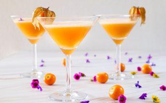 Peruaanse pisco sour goudbes cocktail