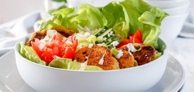 Falafel salade bowl
