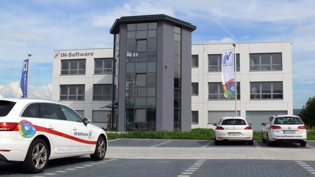 IN-Software Firmengebäude
