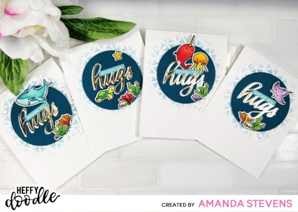 Amanda Stevens Oceans of Love Sending Hugs Cards