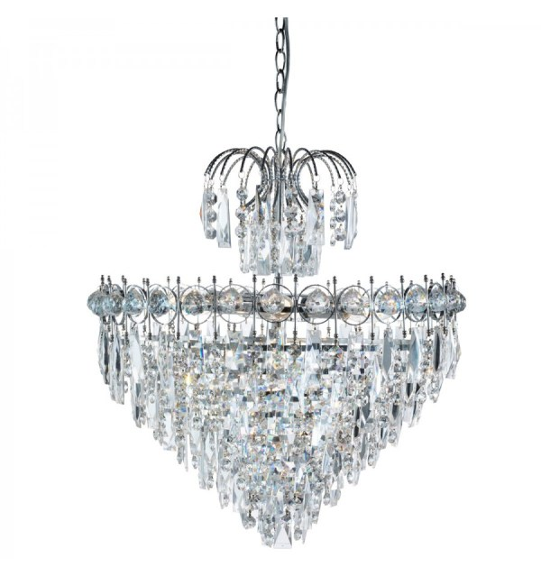 crystal chandelier tiered # 59