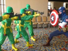Cap vs Hydra