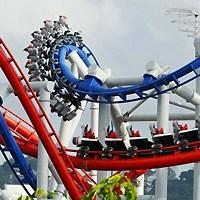 BATTLESTAR GALACTICA Rollercoaster! Holy Frak!