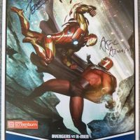 Win an Autographed AVENGERS VS X-MEN Poster