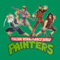 Italian Renaissance Ninja Painters - Painter Power!