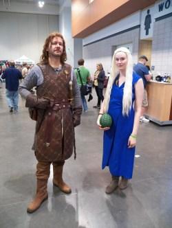 Ned Stark and Daenerys