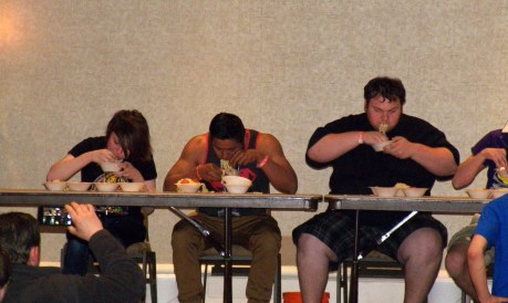 Ramen eating contest