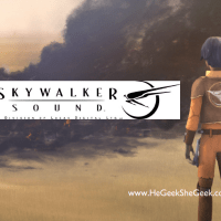 STAR WARS REBELS' Ezra Works for Skywalker Sound