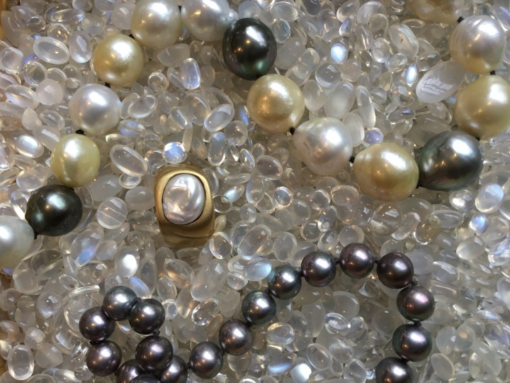 Pearls and Moonstones: Gems of June