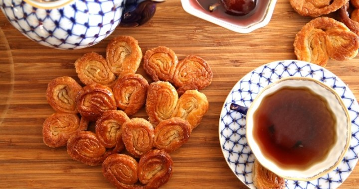 Palmiers French Cookies Easy Recipe