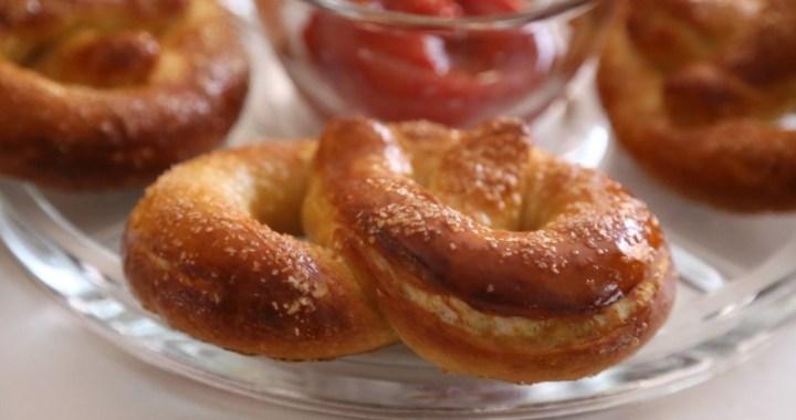 pretzels recipe