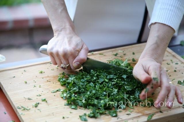 Armenian Jingalov Hats Greens Stuffed Bread