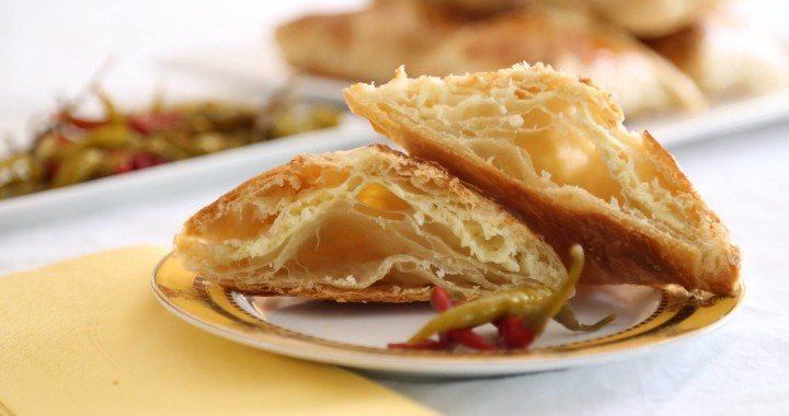 Cheese Puff Pastry - Khachapuri Recipe