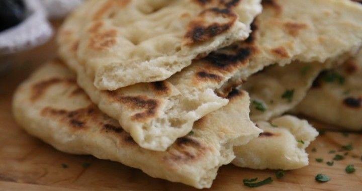 Indian flatbread Naan Recipe Հնդկական Հաց Նաան