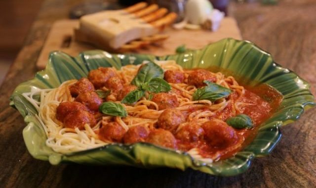 Spaghetti Meatballs Recipe by Heghineh