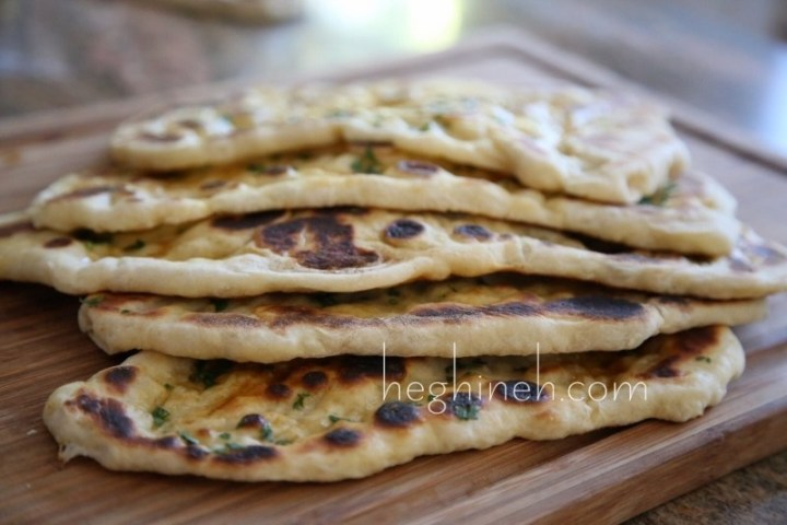 Indian flatbread Naan Հնդկական Հաց Նաան