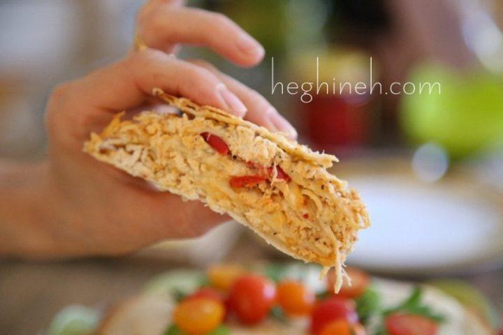 Chicken Quesadilla Cake Recipe