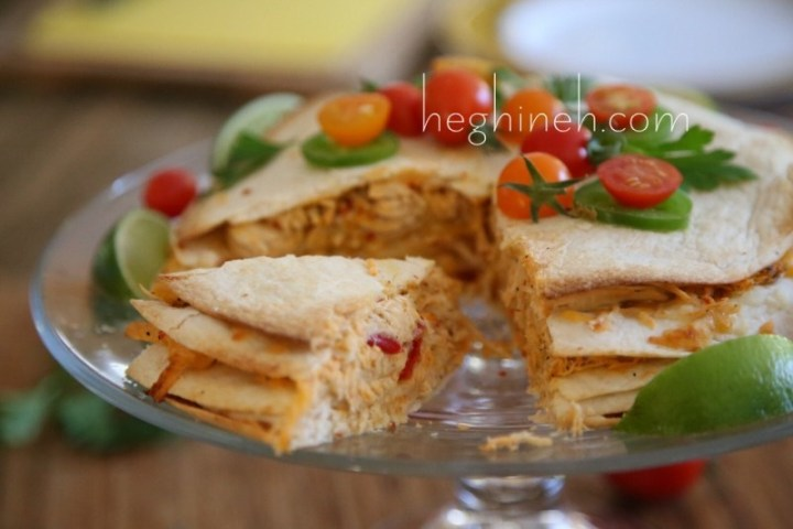 Chicken Quesadilla Cake Recipe
