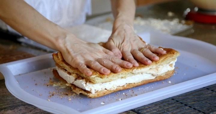 Meringue Cake Napoleon