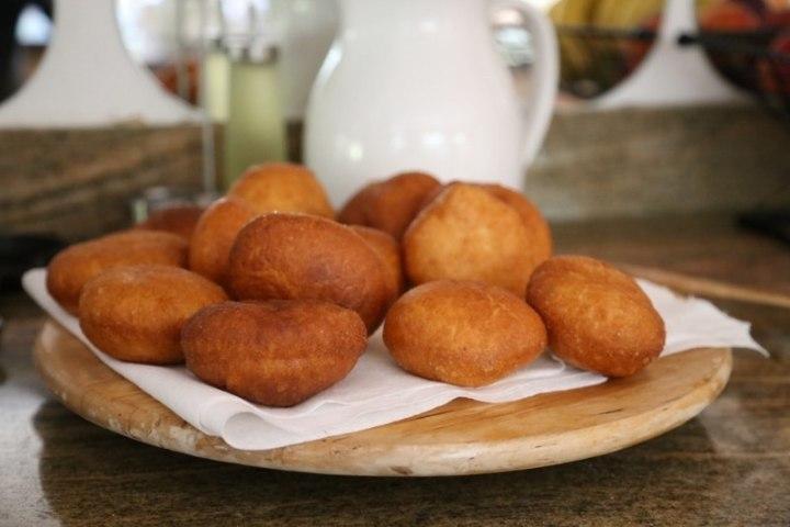 Cream Filled Donuts Ponchiki Пончики