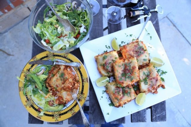 Lasagna Roll Ups Recipe by Heghineh