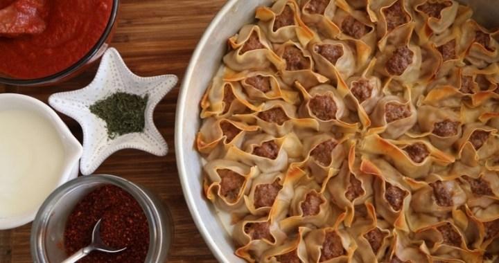 Armenian manti recipe armenian cuisine heghineh for Armenian cuisine