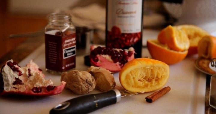 Cranberry Pomegranate Sauce Recipe