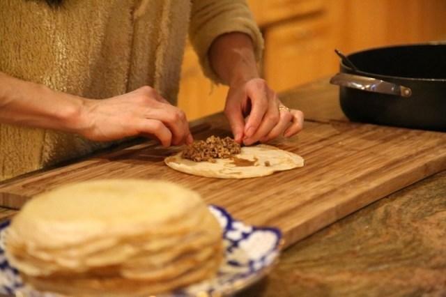 Meat Crepes - Նրբաբլիթ
