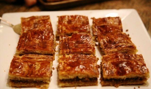Puff Pastry Meat Pie Recipe - Մսով Շերտավոր Խմորով Կարկանդակ