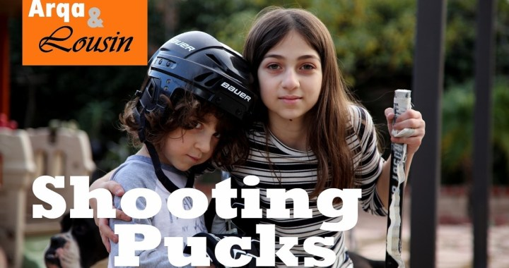 Shooting Pucks Outside