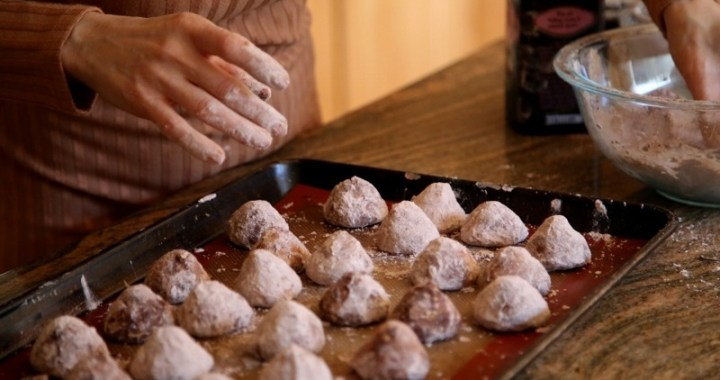 Hazelnut Truffle Cookies Recipe