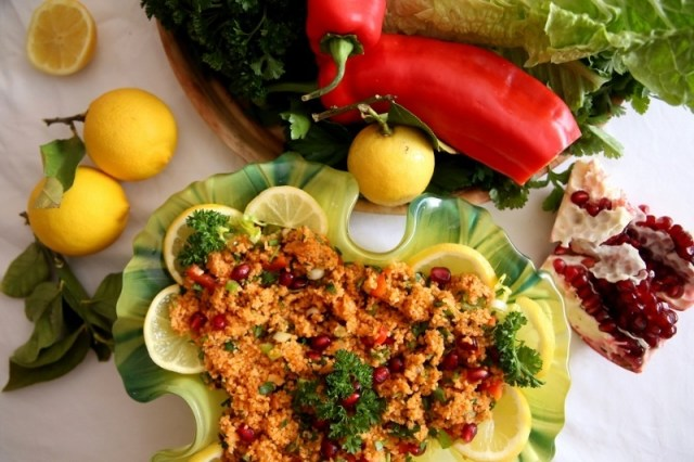 Bulgur Salad - Itch Salad