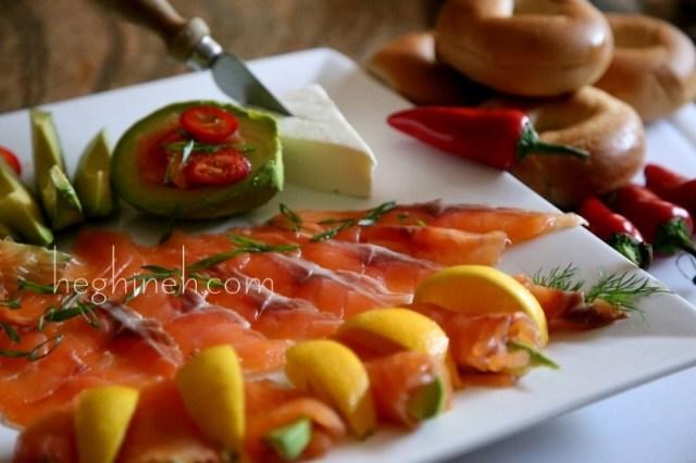 Cured Salmon Recipe - Ապխտած Սաղմոն