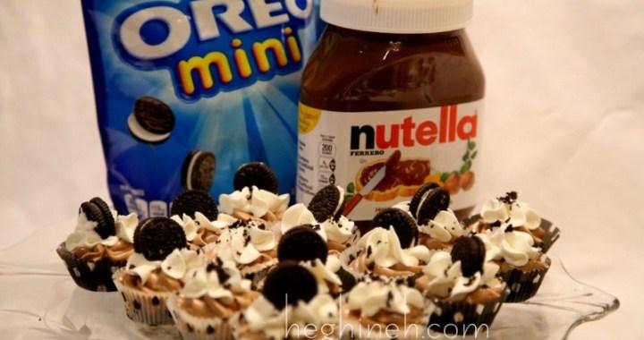 Oreo Nutella Cheesecake Bites